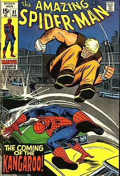 The Amazing Spider-Man the Coming of the Kangaroo!